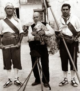 Vicente Capitan,gaitero y el Dance de Lanaja